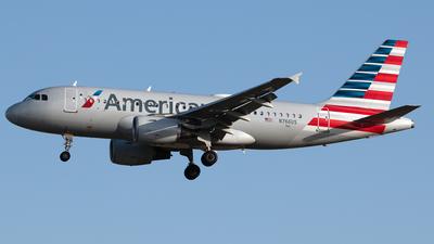 N766US - Airbus A319-112 - American Airlines