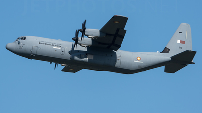 212 - Lockheed Martin C-130J-30 Hercules - Qatar - Air Force