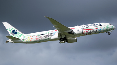 A picture of XAADL - Boeing 7879 Dreamliner - Aeromexico - © Miguel Coral