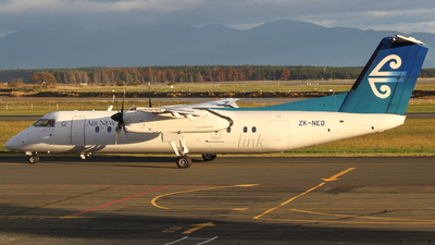 ZK-NED - Bombardier Dash 8-Q311 - Air New Zealand Link (Air Nelson)