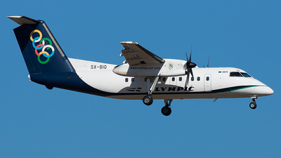 SX-BIQ - Bombardier Dash 8-102A - Olympic Air