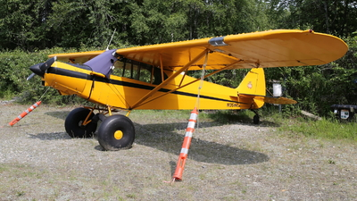N135WK - Piper PA-18 Super Cub - Private