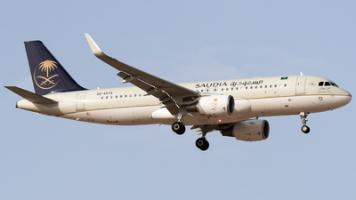 A picture of HZAS73 - Airbus A320214 - Saudia - © AirlinerSpotter