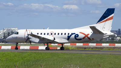 VH-RXE - Saab 340B - Regional Express (REX)