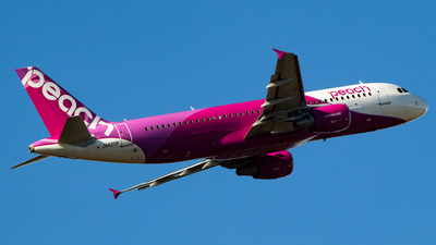 JA820P - Airbus A320-214 - Peach Aviation