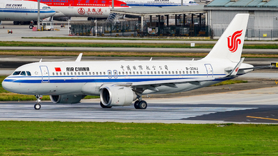 B-324J - Airbus A320-251N - Air China