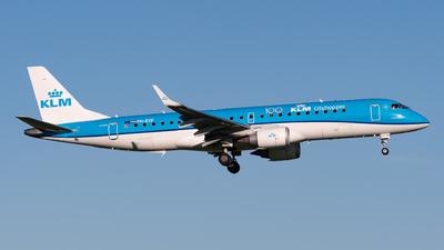 PH-EXF - Embraer 190-100STD - KLM Cityhopper
