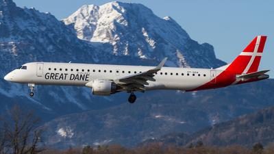 OY-GDA - Embraer 190-200LR - Great Dane Airlines
