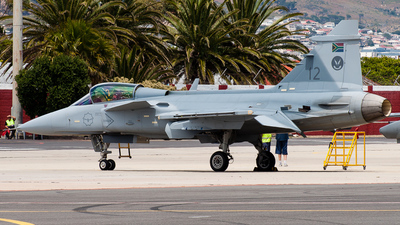 3912 - Saab JAS-39C Gripen - South Africa - Air Force
