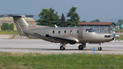 LX-JFR - Pilatus PC-12/47E - Jetfly Aviation