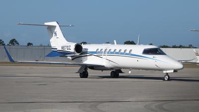 N870Z - Bombardier Learjet 45 - Private