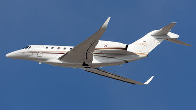 N797CX - Cessna 750 Citation X - Private