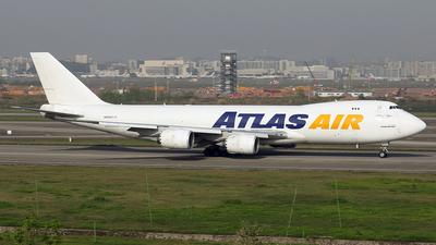A picture of N859GT - Boeing 74787U(F) - Atlas Air - © YIJING HOU