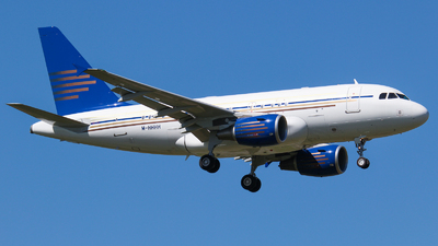 M-HHHH - Airbus A318-112(CJ) Elite - Global Jet Luxembourg