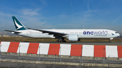 B-KQM - Boeing 777-367ER - Cathay Pacific Airways