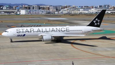 JA614A - Boeing 767-381(ER) - All Nippon Airways (Air Japan)