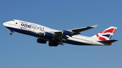 G-CIVM - Boeing 747-436 - British Airways