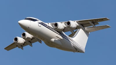 G-OFOM - British Aerospace BAe 146-100 - Formula One - Flight Operations