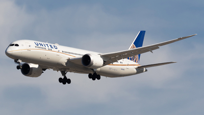 N26966 - Boeing 787-9 Dreamliner - United Airlines