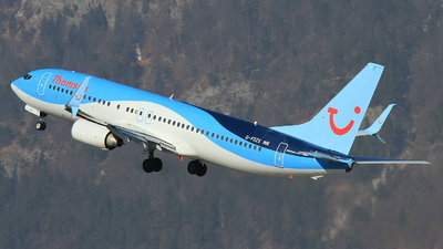 G-FDZX - Boeing 737-8K5 - Thomson Airways