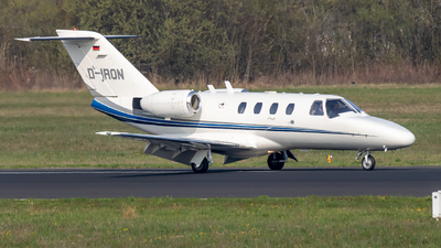D-IRON - Cessna 525 CitationJet 1 - Private