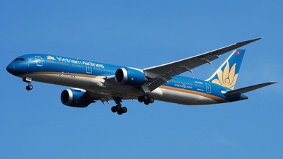 A picture of VNA862 - Boeing 7879 Dreamliner - Vietnam Airlines - © toeychincha