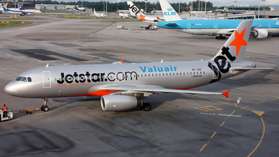 9V-JSK - Airbus A320-232 - Jetstar Asia Airways