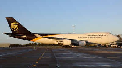A picture of N583UP - Boeing 7474R7(F) - UPS Airlines - © PAUL QUINN