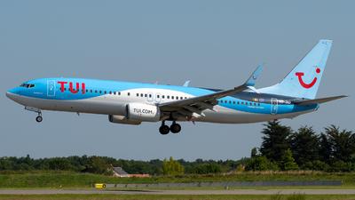 OO-JAU - Boeing 737-8K5 - TUI