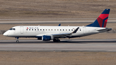 A picture of N258SY - Embraer E175LR - Delta Air Lines - © Yixin Chen