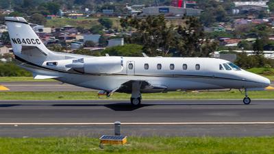 A picture of N840CC - Cessna 560XL Citation Excel - [5605040] - © Alonso Cisneros