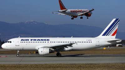 F-GFKZ - Airbus A320-211 - Air France
