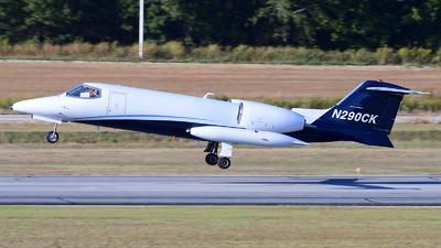 N290CK - Gates Learjet 35A - Kalitta Charters