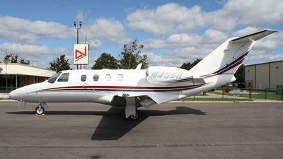 N43BH - Cessna 525 CitationJet 1 Plus - Private
