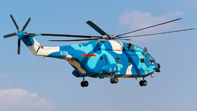 6120 - Changhe Z-8KA - China - Air Force