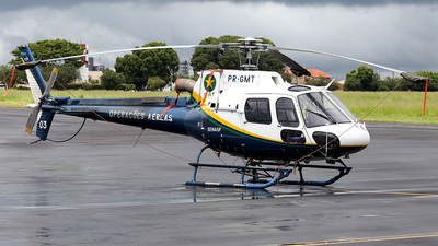 PR-GMT - Helibrás AS-350B2 Esquilo - Brazil - Military Police