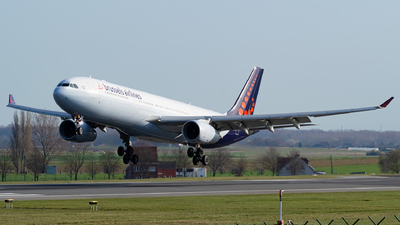 A picture of OOSFG - Airbus A330343 - Brussels Airlines - © Kyan Rossignol