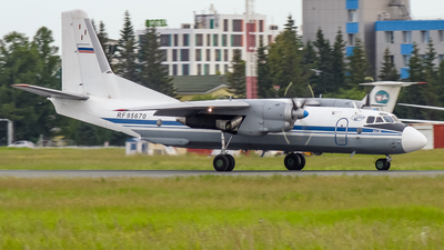 RF-95670 - Antonov An-26 - Russia - Air Force