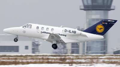 D-ILHB - Cessna 525 CitationJet 1 Plus - Lufthansa Flight Training