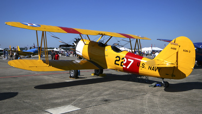 N44821 - Naval Aircraft Factory N3N-3 Yellow Peril - Private