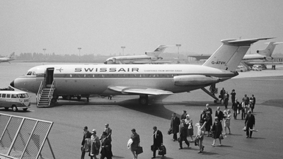 G-ATVH - British Aircraft Corporation BAC 1-11 Series 201AC - Swissair
