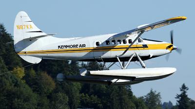 A picture of N87KA - De Havilland Canada DHC3T Vazar Turbine Otter - Kenmore Air - © Kevin Porter