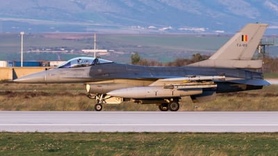 FA-89 - General Dynamics F-16AM Fighting Falcon - Belgium - Air Force