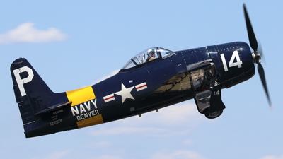 NX14WB - Grumman F8F Bearcat - Private