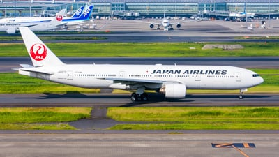 JA007D - Boeing 777-289 - Japan Airlines (JAL)