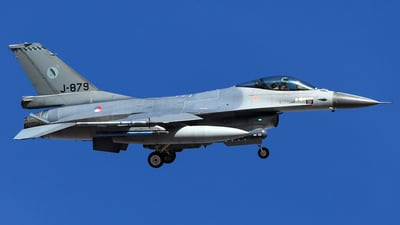 J-879 - General Dynamics F-16AM Fighting Falcon - Netherlands - Royal Air Force