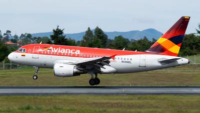 N596EL - Airbus A318-111 - Avianca