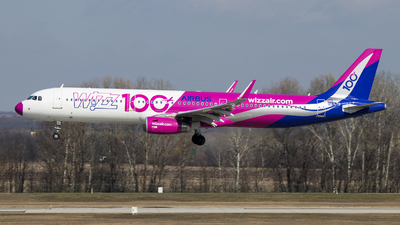HA-LTD - Airbus A321-231 - Wizz Air