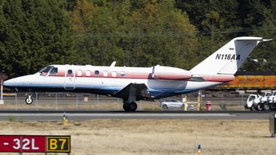 N116AA - Cessna 525B CitationJet CJ3+ - Private