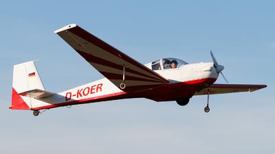 D-KOER - Scheibe SF.25C Falke - Fliegerclub Mühldorf